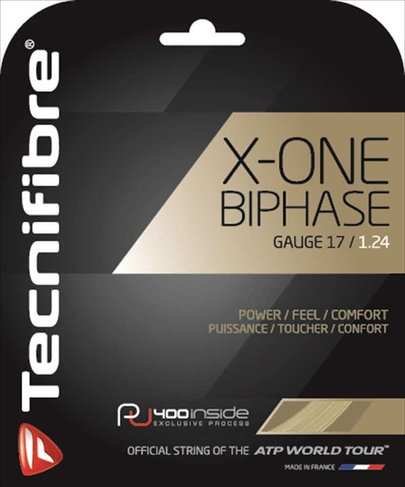 Best Strings for Power – Technifibre X Biphase Tennis Strings